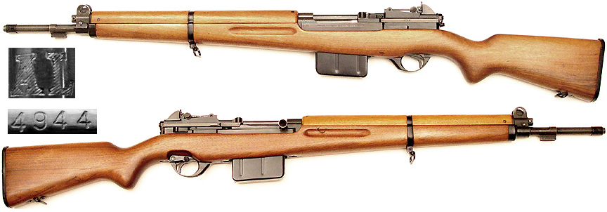 Only 6000 FN-49 rifles were made for Luxembourg, and .30-06 is the most