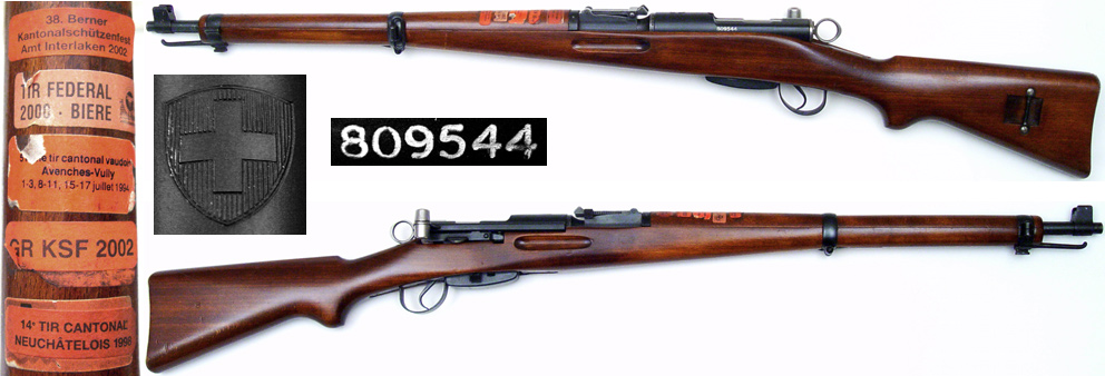SWISS Model K31 Schmidt-Rubin short rifles for sale!