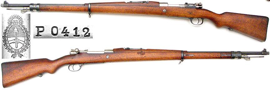 Model 1909 Argentine Mauser Serial Numbers - pasttrust